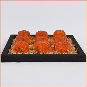 seife selbst herstellen bastelidee orangenseife. Black Bedroom Furniture Sets. Home Design Ideas