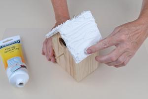 diy spardose basteln bastelidee spardose aus einem vogelhaus basteln basteln mit dem. Black Bedroom Furniture Sets. Home Design Ideas