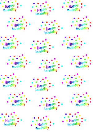 Happy birthday mandala zum ausdrucken