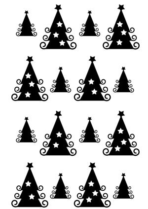 Weihnachtsmotive Schwarz Weiß Ausdrucken.Diy Geschenkpapier Drucken Für Weihnachten Basteln Mit Dem