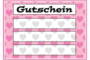 Diy Gutschein Vorlagen Kostenlos Zum Ausdrucken