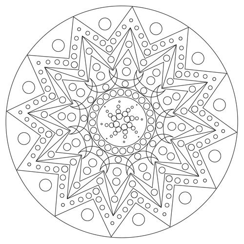 DIY Mandala Vorlagen kostenlos zum Ausdrucken * Basteln mit dem ...