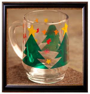 Bastelideen f r weihnachten bastelidee weihnachtsdeko - Fensterfolie weihnachten ...