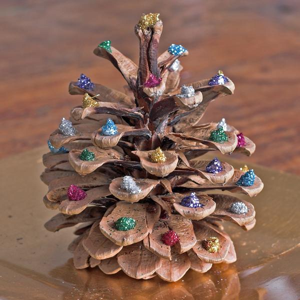 Weihnachtsdeko basteln mit Tannenzapfen - Wundervolle DIY ...
