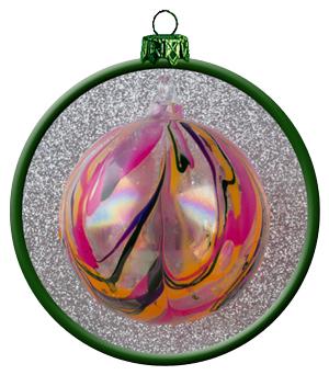 Außergewöhnliche Weihnachtskugeln.Basteln Für Weihnachten Bastelidee Weihnachtsdeko Und