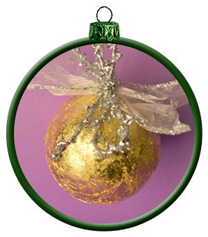 Basteln f r weihnachten bastelidee weihnachtsdeko und for Blattgold basteln