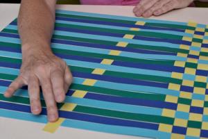 Sehr Ideen für die Tisch Deko - Bastelidee: Tischset basteln und selber SQ81