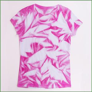 Gut bekannt DIY T-Shirt batiken ♥ Bastelidee: T-Shirt mit Textilsprühfarben PS18